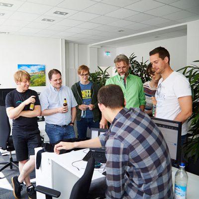 TSO-Nürnberg Bürobesichtigung